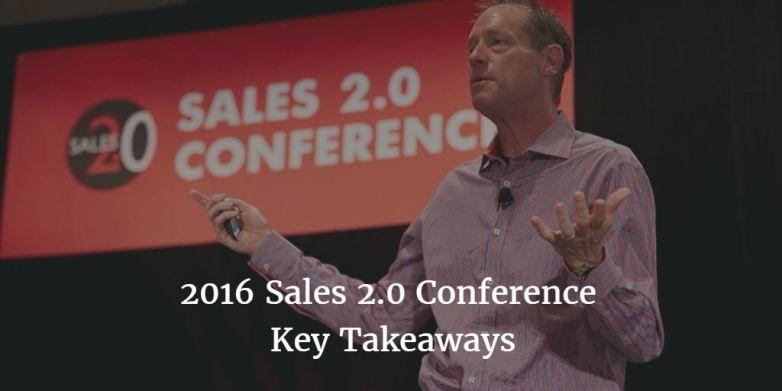 2016 Sales 2.0 Conference Key Takeaways | Execus